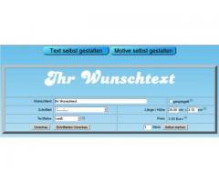 Textaufkleber Schriftaufkleber selbst gestalten günstig online designen bei Schrift-Fabrik.de