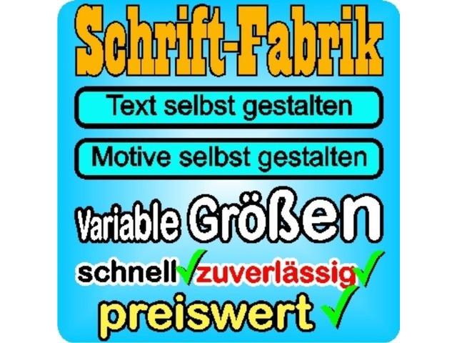 Klebeschriften Online Bestellen Hamburg Ubdu Kleinanzeigen